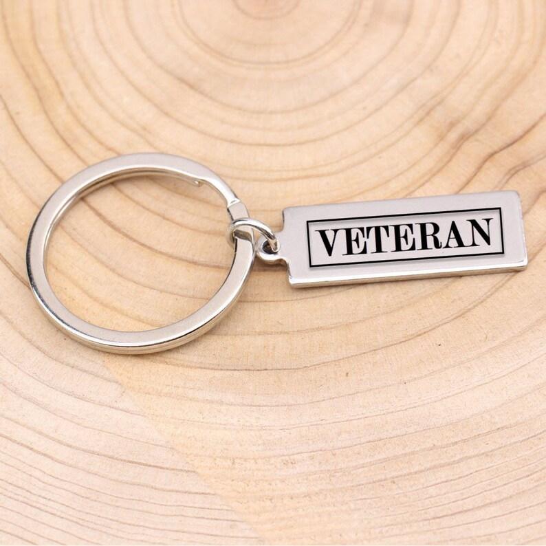 Veteran respect keyringveterans day gift idea
