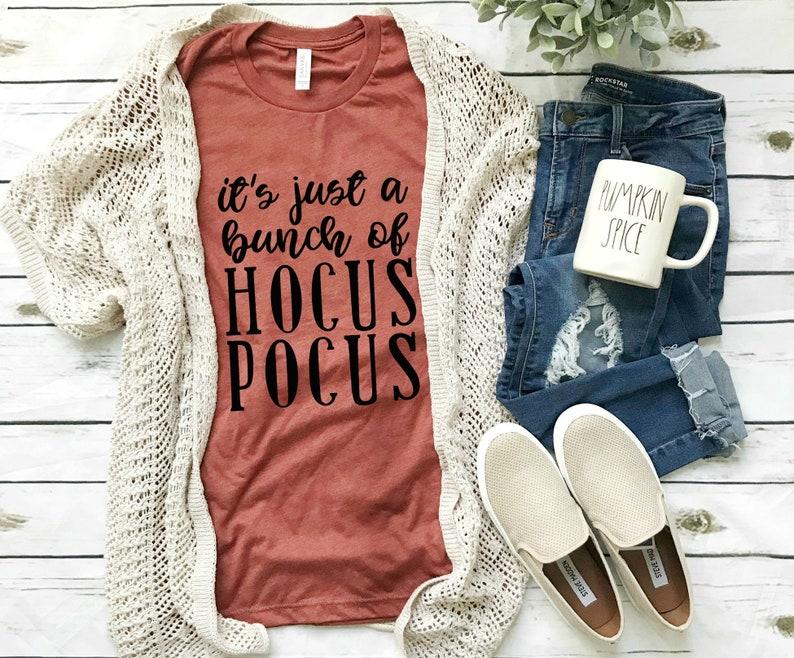 It's just a bunch of Hocus Pocus Shirt  Fall shirt  Fall image 0