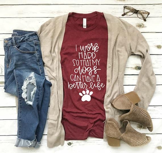 97ba616ef5211 Dog Shirt women s clothing clothing gift dog mom