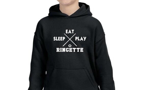 Eat Sleep Ringette Children Hoodie
