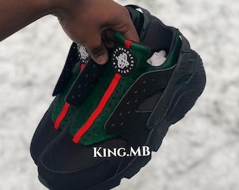buy online ae28d 17bad Gucci Nike Huaraches