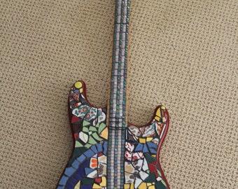 Mosaic guitar