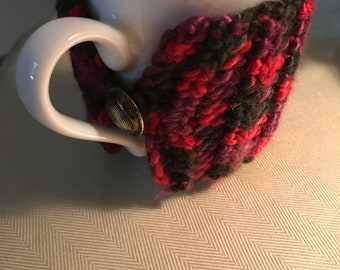Coffee cup cozy (mug) crocheted