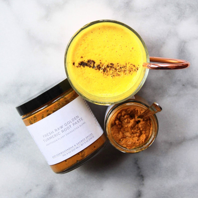 Turmeric Paste | Turmeric Golden Paste | Golden Milk Turmeric Paste |  Turmeric Paste for Inflammation | Fresh Whole Root Turmeric Paste