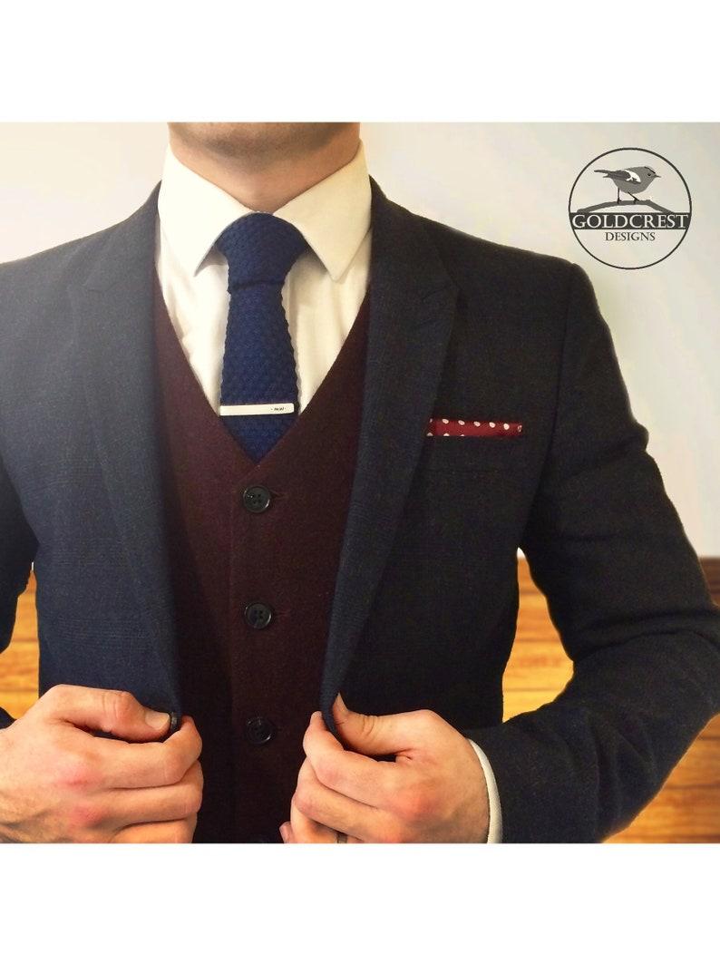 Groomsmen Gift Tie Clip Customised Tie Clip Wedding Tie Clip  Wedding Favour  Best Man Gift Groomsmen Tie Bar Gift for Him Usher Gift