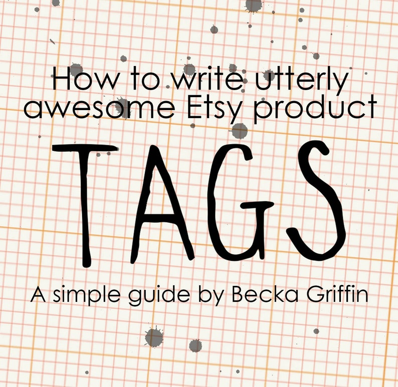 Etsy Tags Instant Download Tutorial image 0