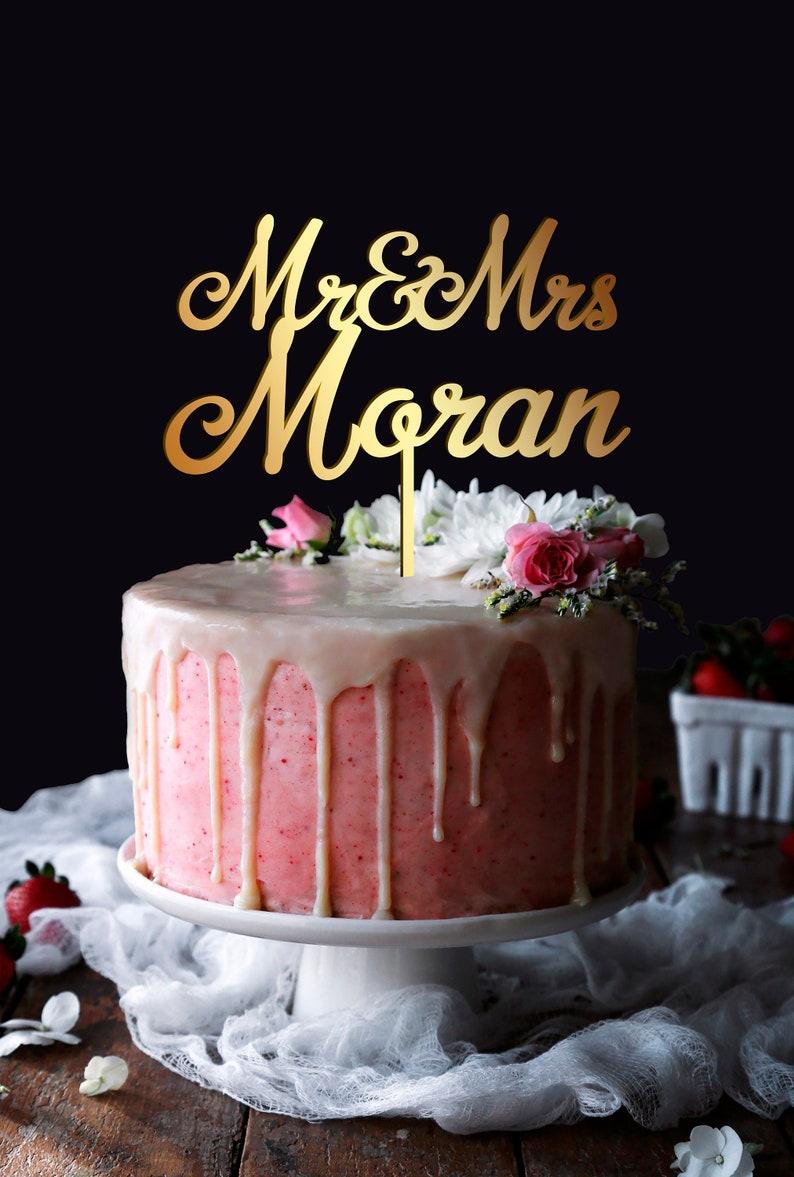 Birthday Cake Topper Wedding Cake Topper Mr and Mrs Cake Topper Wedding Cake Topper,