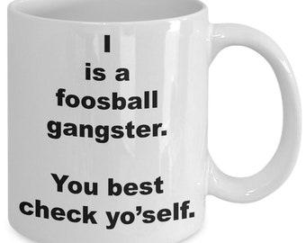 Foosball - Foosball Game - Foosball Gift - Vintage Foosball - Foosball Dad - Foosball Mug