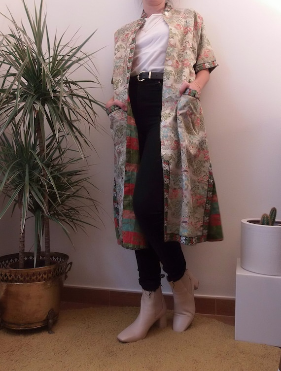 Vintage Chinese robe, chinese coat, from Macau