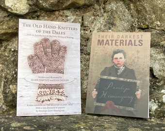 SPECIAL Offer - Old Hand-Knitters of the Dales AND Their Darkest Materials.