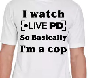 LIVE PD Tee