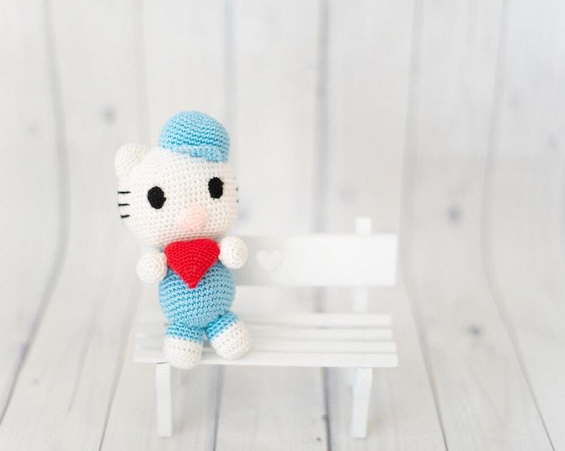 Cutesome Knitted Amigurumi Cats [FREE Knitting Pattern] | 634x794
