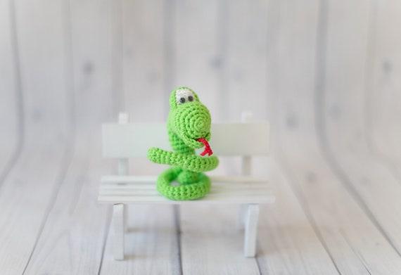 New Year Snake Free Amigurumi Pattern ⋆ Crochet Kingdom | 391x570