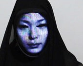 Lumen Couture LED Face Changing Mask (Shining Mask)