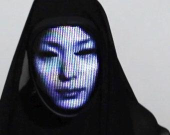 Lumen Couture LED Face Changing Mask (Shining Mask)