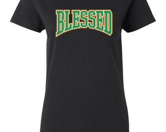 e78302f650d7 Blessed Women s T-Shirt Sneaker Tees To Match Jordan 6 VI Retro Gatorade  New - Black