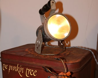 Re-Purposed Railroad Car Inspector's Lantern Table Lamp