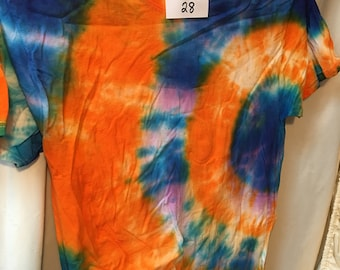 Tie Dyed T-Shirt Adult Medium  (AM-28)