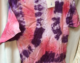 Tie Dyed T-Shirt Adult Medium  (AM-2)