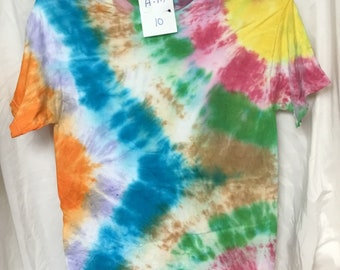 Tie Dyed T-Shirt Adult Medium  (AM-10)