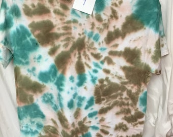 Tie Dyed T-Shirt Adult Medium  (AM-7)