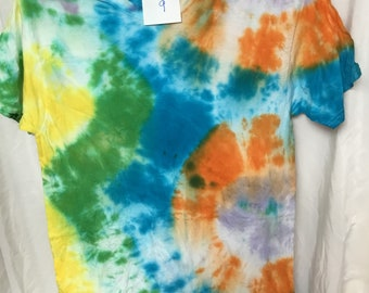 Tie Dyed T-Shirt Adult Medium  (AM-9)