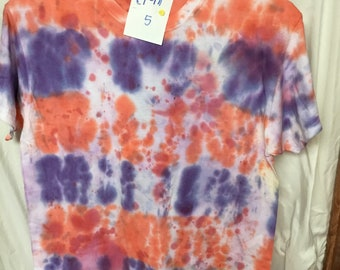 Tie Dyed T-Shirt Adult Medium  (AM-5)