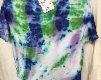 Tie Dyed T-Shirt Adult Medium  (AM-27)