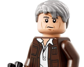 Custom Han Solo Lego Mini-Figure