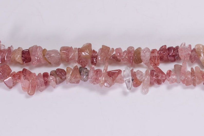 Wholesale Full Strand Natural Strawberry Quartz beads,Jewelry,Necklace,Pendant,Crystal Necklace,Gift for Her,Gemstone Necklace