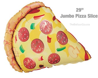 pizza balloon etsy