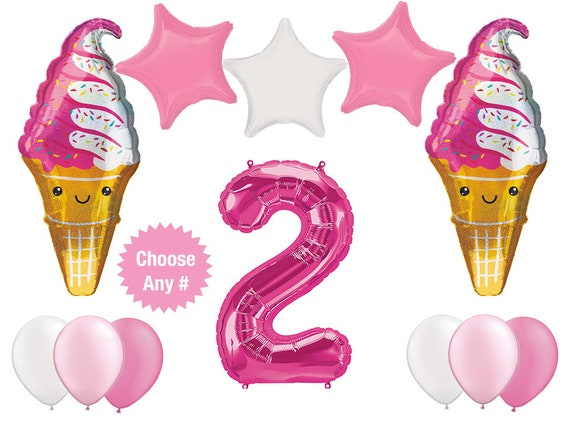 Ice Cream Lolly Supershape Foil Party Balloon