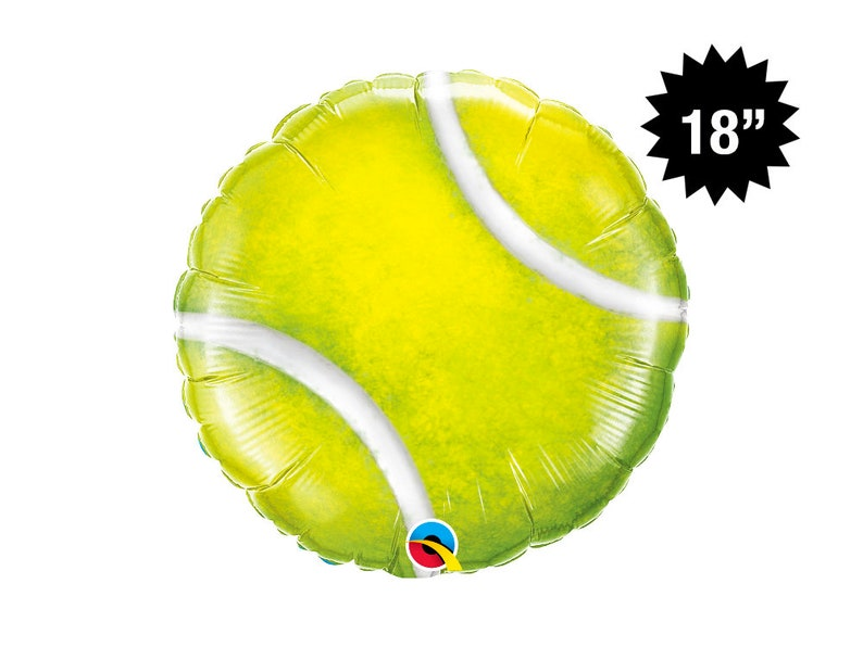 238160a1c 18 Tennis Ball Balloon Tennis Party Decoration Sports