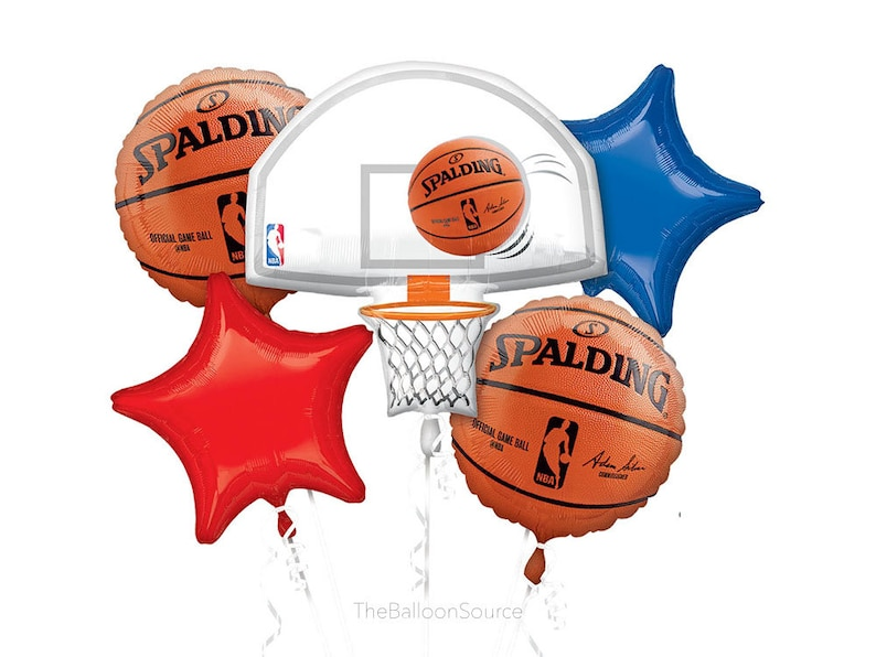 bbff09375 NBA Basketball Balloon Bouquet Party Decoration Party