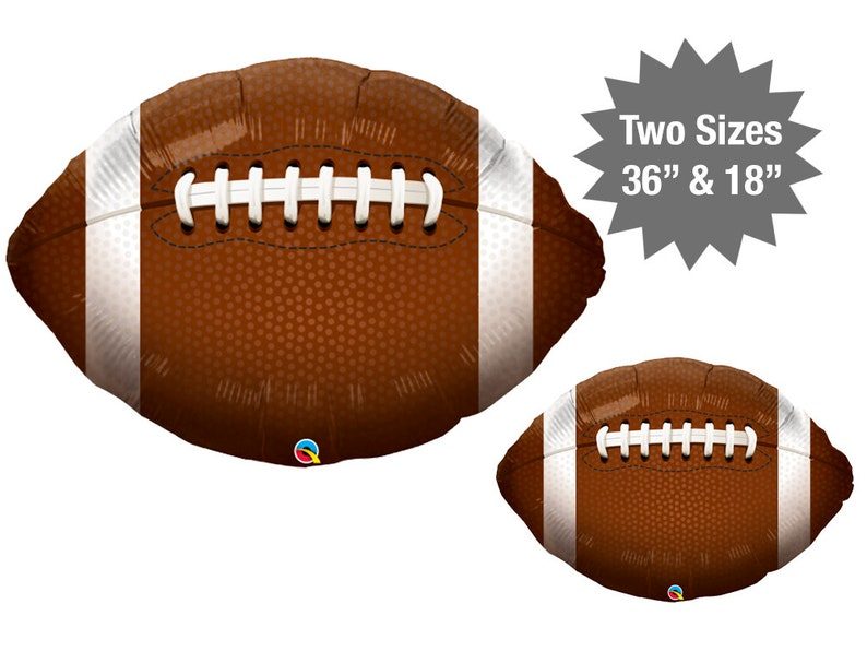 Football Balloons Two Sizes Football Party Decoration  3d8372cf5