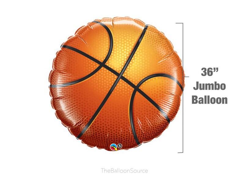 dd995e13d 36 Jumbo Basketball Balloon NBA Party Decoration