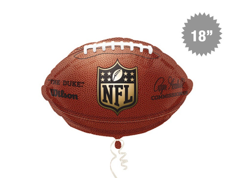 Football Balloon 18 NFL Balloon Football Party  909acd3bc