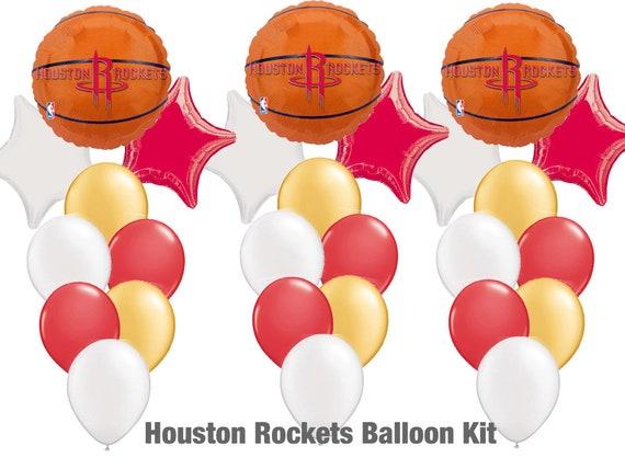 4bc6a1e6f Houston Rockets Party Balloon Kit 29ct Rockets Party