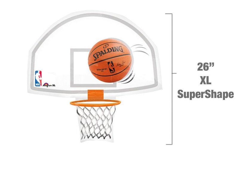 976bbe598 Basketball Backboard Jumbo Balloon NBA Party Decoration