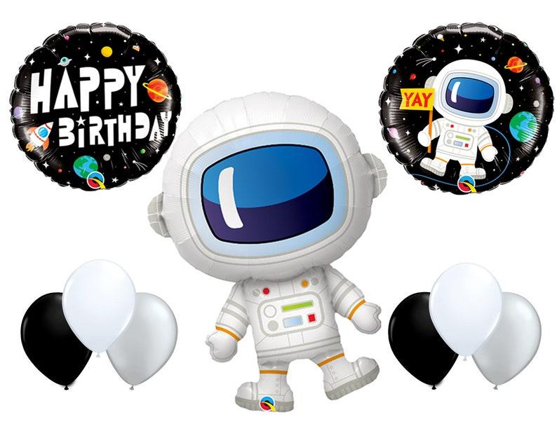 00587e741 Astronaut Birthday Balloon Kit 9pc Astronaut Theme Birthday