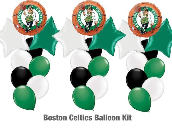 97aaa62a8 Boston Celtics Balloon Kit 29ct Celtics Basketball Party