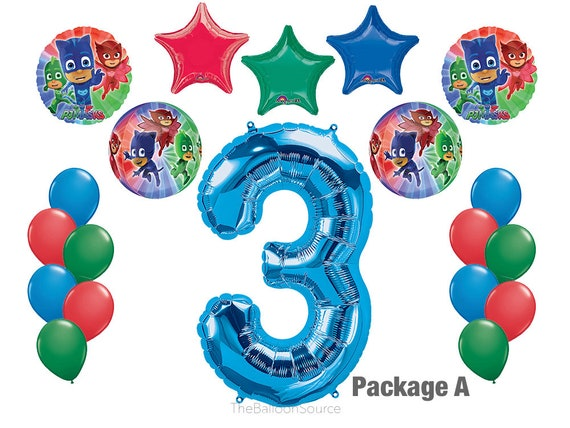 Party Supplies PJ Masks Birthday Party Welcoming Kit 25 ct