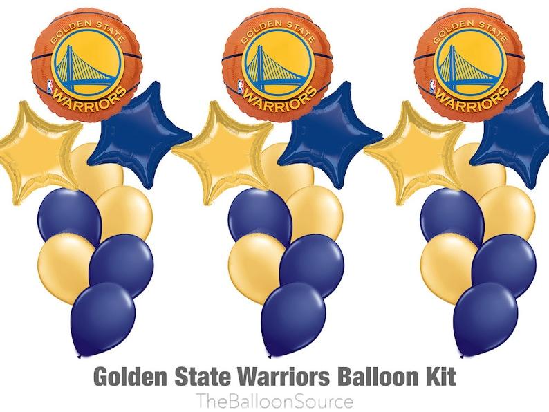 2dbf6ed51 Golden State Warriors Balloon Kit 27ct GS Warriors