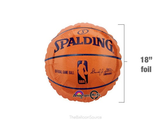 d8887ab4e 18 Spalding Basketball Balloon NBA Birthday Party