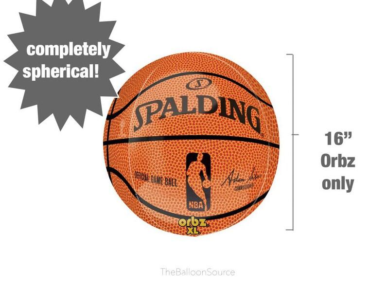360a19f0c 16 Spalding Basketball ORBZ Balloon NBA Birthday Party
