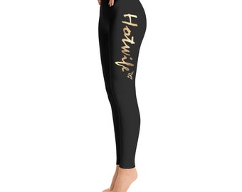 Hotwife Leggings with Vixen and Hotwife design
