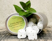 Peppermint Lime Shower Steamers Focus Blend Bath Bombs, Gift Set, Congestion Relief, Mojito