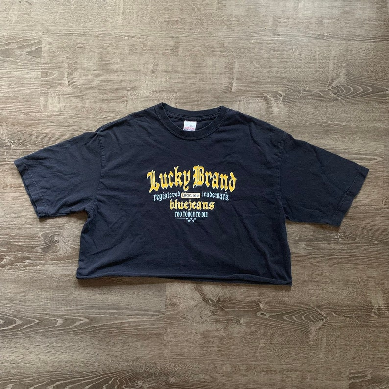 Vintage LUCKY BRAND Crop Top image 0