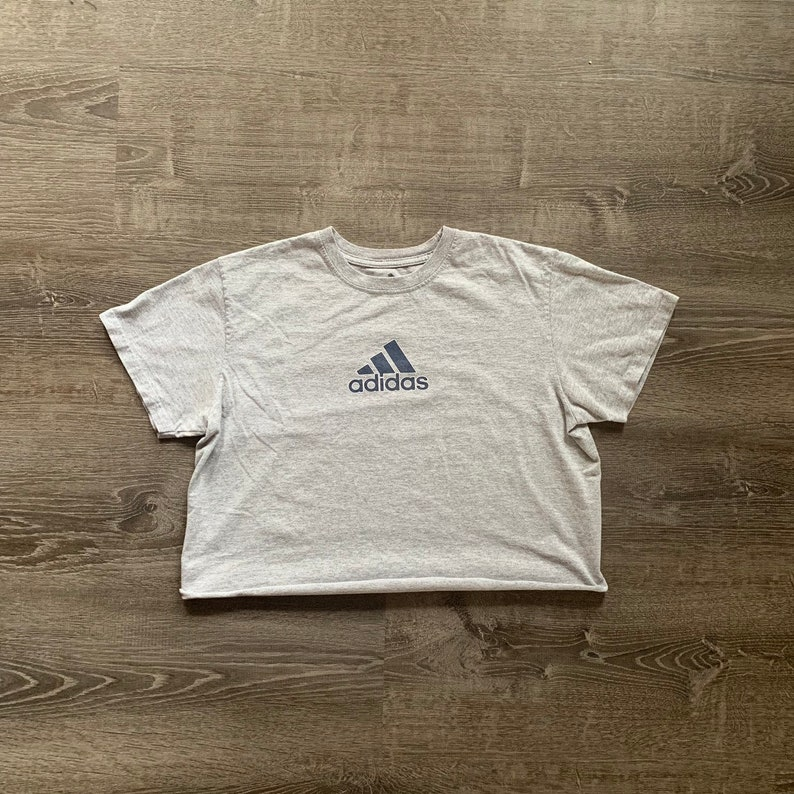 Vintage ADIDAS Athletic Crop Top image 0