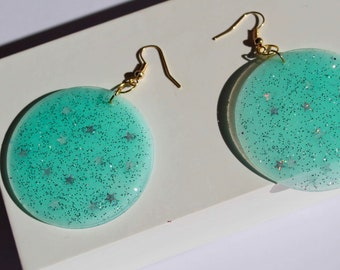 Baby Blues drop earrings